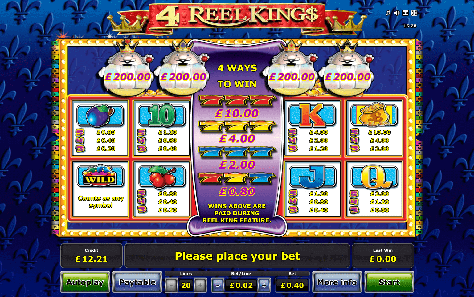 A Comprehensive Guide to the 4 Reel Kings Online Slot